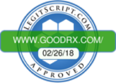 Verified as a legitimate online pharmacy by Legit Script